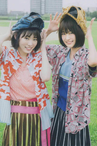 Minami Koike 小池美波, Rina Inoue 井上梨名, B.L.T. 2019.09 (ビー・エル・ティー 2019年9月号)