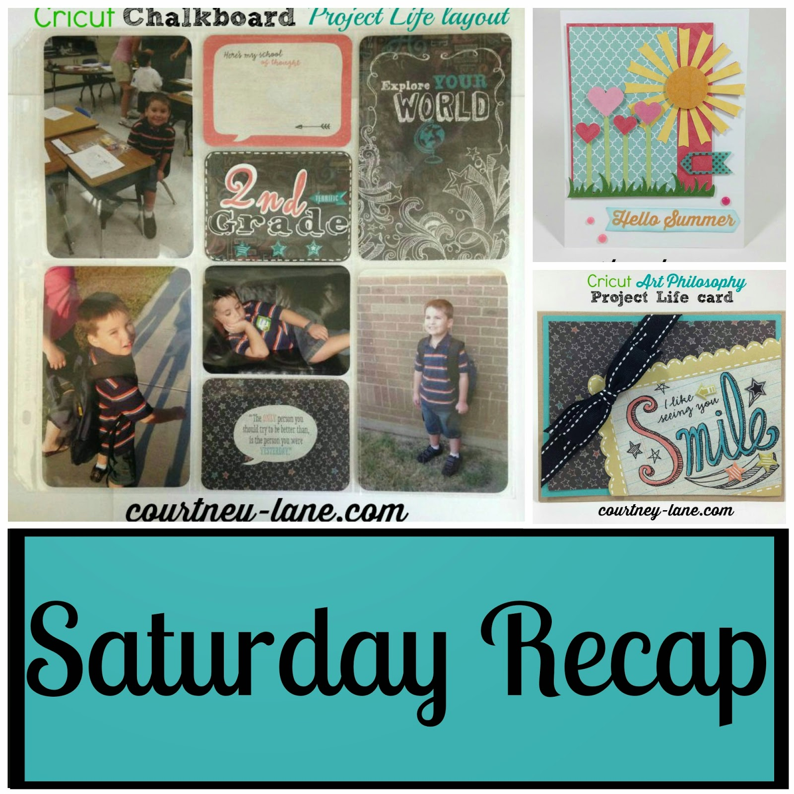 Saturday Recap collage