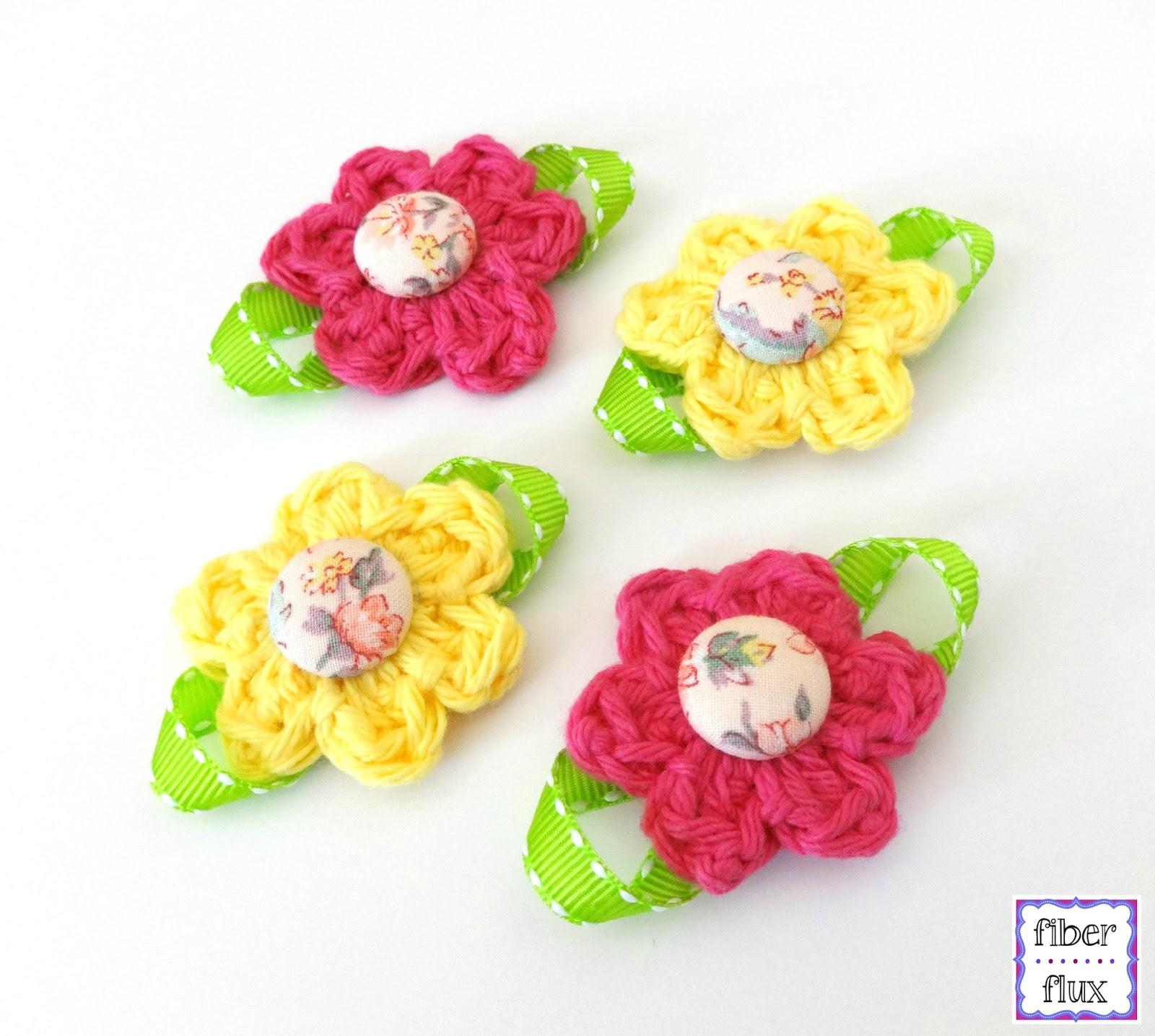 Fiber Flux Free Crochet Patternutique Daisy