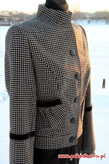 patrón gratis chaqueta o cazadora