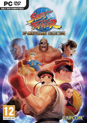 Street Fighter 30th Anniversary Collection - PC Cover
