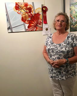 Margaret Munson photograph receives 2nd place ribbon at Morini Gallery Art Exihibit