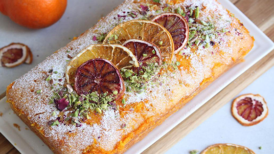 طريقة عمل كيكة البرتقال (سهلة و لذيذة )