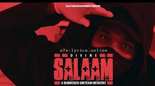SALAAM LYRICS | TRANSLATION | DIVINE