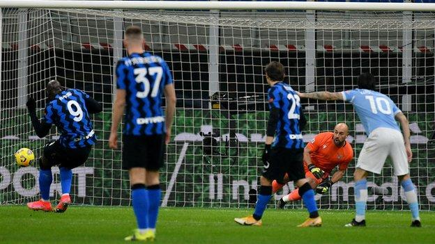 Lukaku double help Inter-Milan beat Lazio 3-1 in Italian league