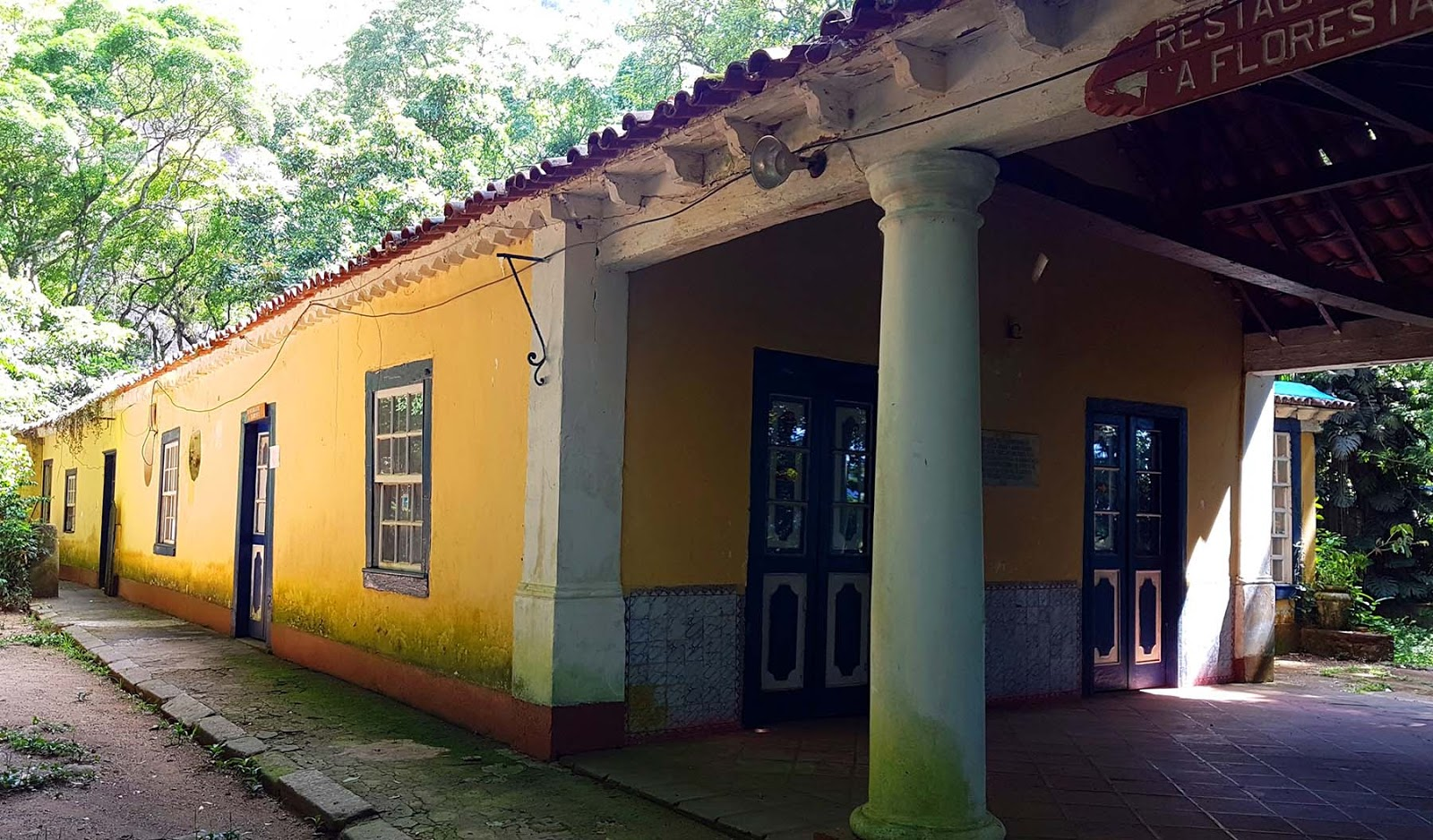 Restaurante A Floresta na Floresta da Tijuca.