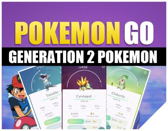 Pokemon Go: Second Gen Egg List – Fan Idea 1