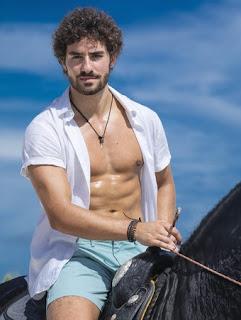 O ator português José Condessa interpretará Juan (João Miguel Jr/TV Globo)