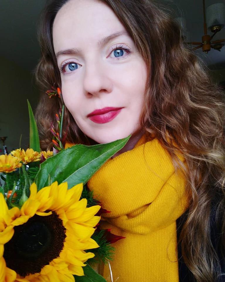 Maria-Thérèse Sommar Härnösand Pärleporten författare solros höst gult yellow