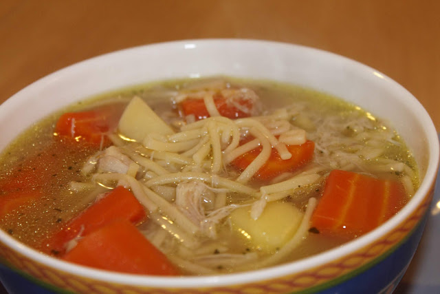 Grandma's Homemade Chicken Noodle Soup Recipe From Scratch