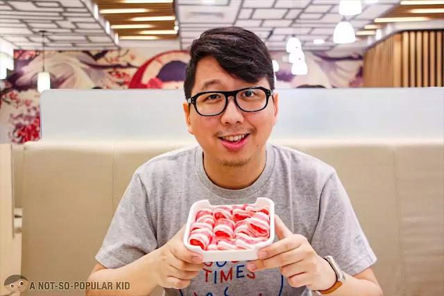 Renz Cheng in Hosaku International Buffet