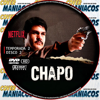 COVER DISCO 2 EL CHAPO TENPORADA 2