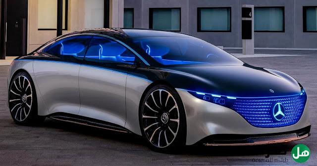 مواصفات سيارة مرسيدس EQS أفخم وأقوى السيارات الكهربائية - هل تعرف
