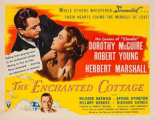 Cartel de la película: Su milagro de amor (1945) THe Enchanted Cottage