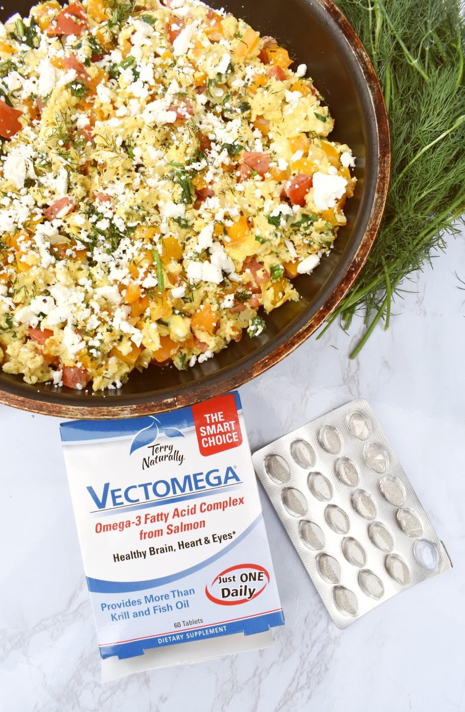 Vectomega omega 3 supplement