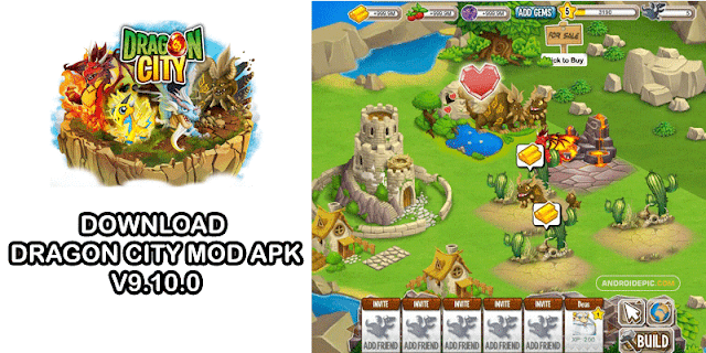 Download Dragon City Mod Apk Terbaru 2020 (V9.10.0)