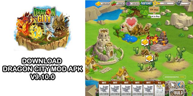 Download Dragon City Mod Apk Terbaru 2020 (V9.10.0)