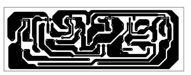 TDA2030 120 watt amplifier circuit with pcb