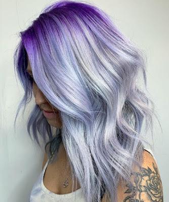 Warna Rambut Lilac Hair