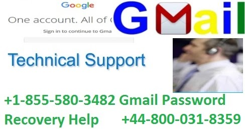 +1-855-580-3482 Gmail Password Recovery Help