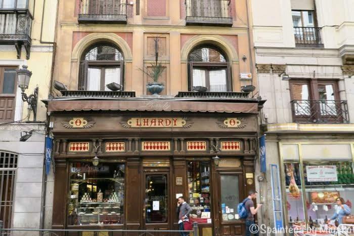 Lhardy マドリード観光に便利なソル広場近いレストラン・ラルディの店構え