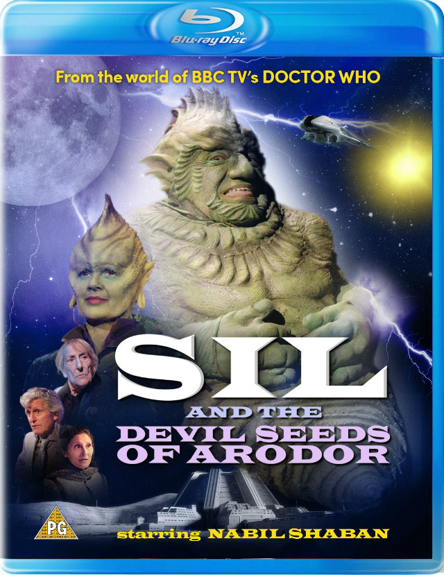 Sil and the Devil Seeds of Arodor bluray