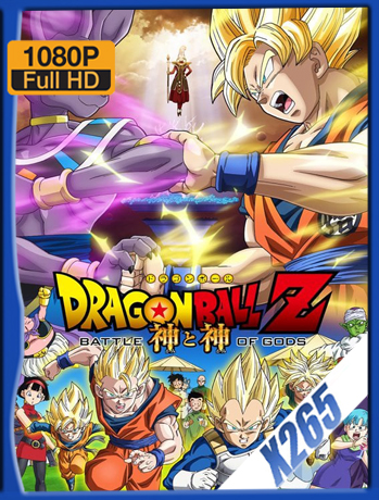Dragon Ball Z: Battle of Gods [2013] 1080P Latino [X265_ChrisHD]
