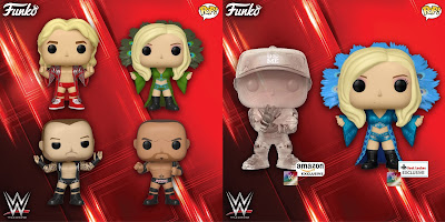 WWE Pop! Vinyl Figures Series 11 by Funko with Ric Flair, Charlotte, Batista, Randy Orton & John Cena!