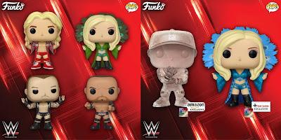 WWE Pop! Vinyl Figures Series 11 by Funko with Ric Flair, Charlotte, Batista, Randy Orton & John Cena!