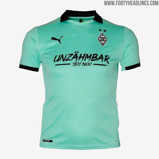 Borussia Monchengladbach 20 21 Third Kit Released Footy Headlines