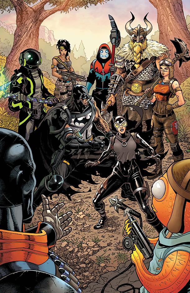 Batman/Fortnite: Zero Point #4 - 5