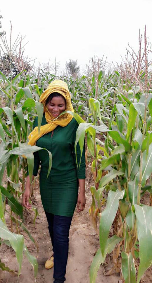 Woman mocks MMM participants with her farmwork