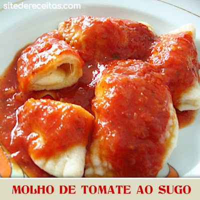 Molho de tomate ao sugo