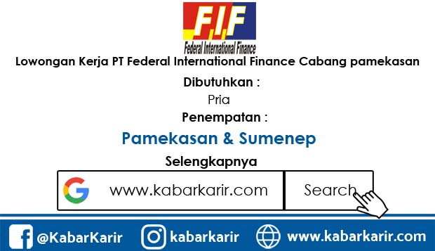 Loker PT Federal International Finance Cabang pamekasan