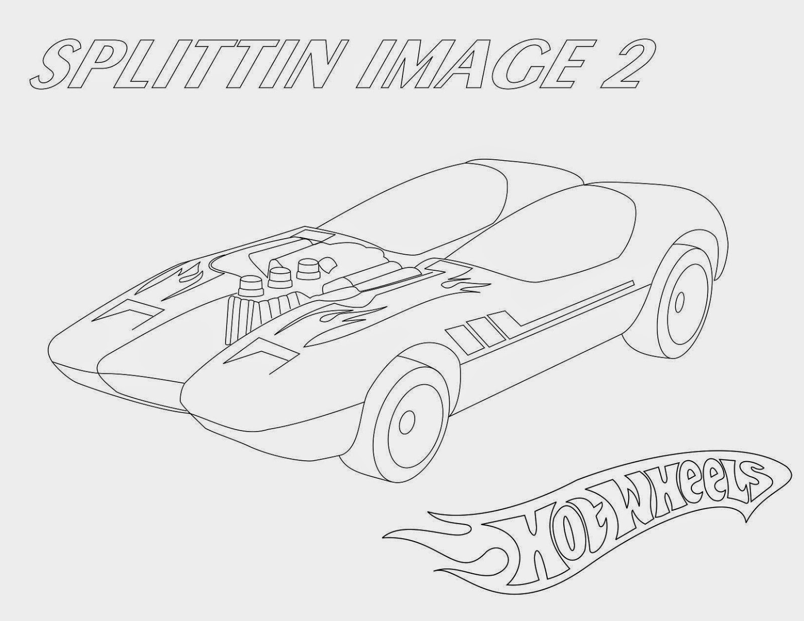 Hot Wheels Coloring Pages 55