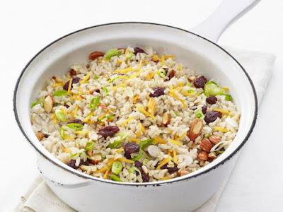 Curried Brown Rice Pilaf