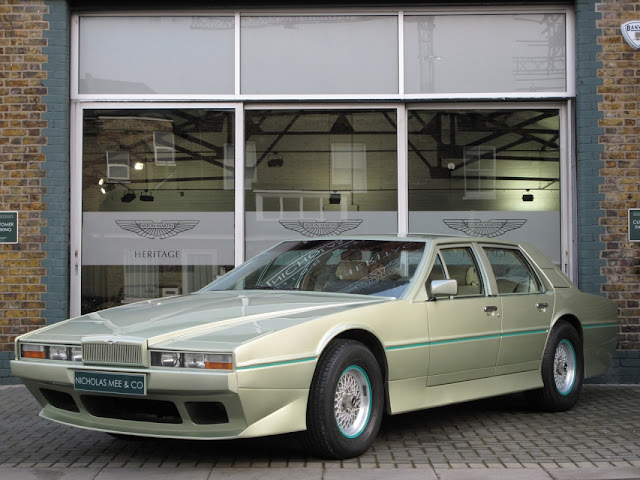 1982 aston martin lagonda tickford for sale at nicholas mee and