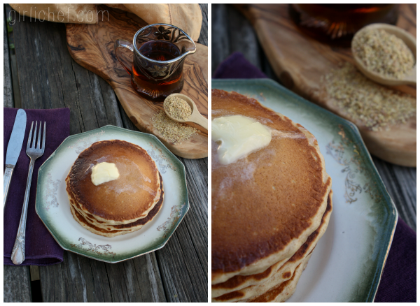 <b>Malted Wheat Germ Pancakes</b> (+Kretschmer Wheat Germ Giveaway)
