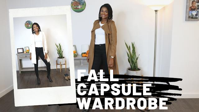 Fall 2019 Capsule Wardrobe