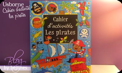 usborne Cahier d'activité les Pirates