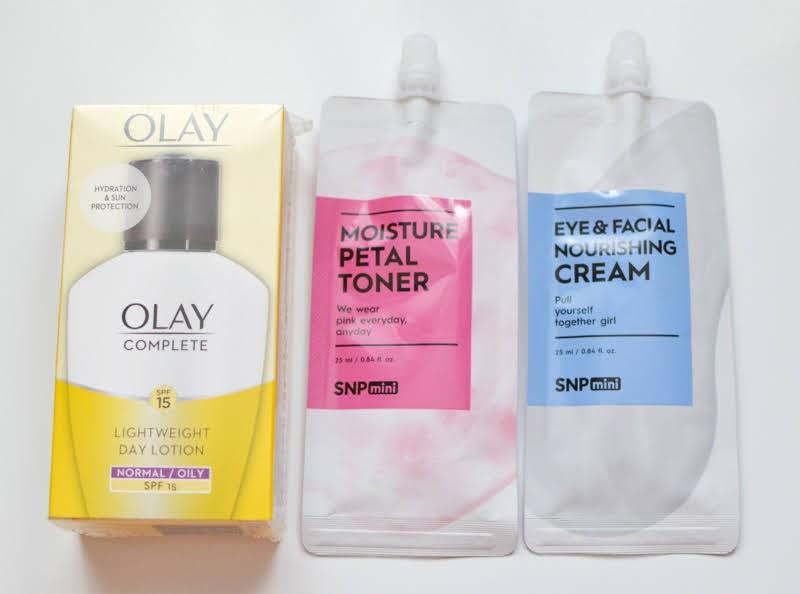 Olay & SNP Skincare