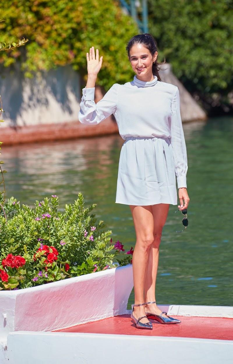 Linda Caridi Arrives at 77th Venice Film Festival 1 Sep -2020