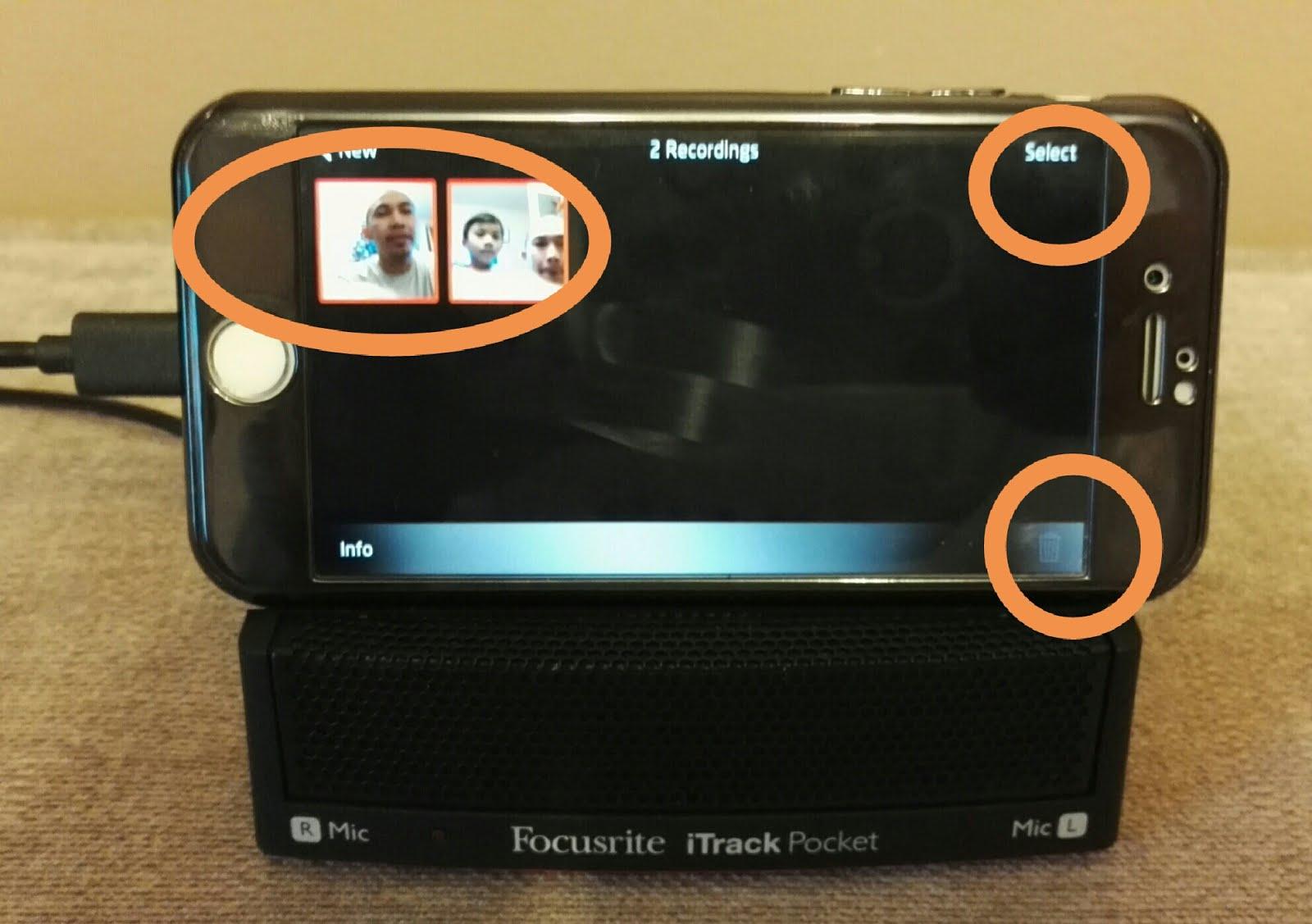 I am homebased: How to use iTrack Pocket