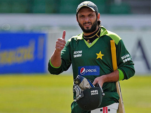 Shahid Afridi World Cup HD WallPapers 2015