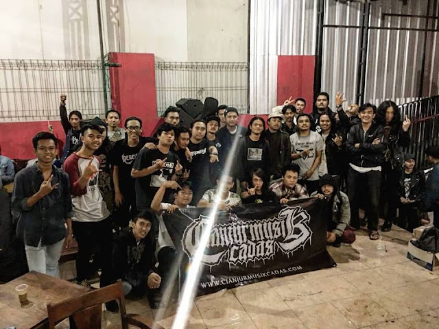 Photo Gigs : Cianjur Musik Cadas - Show Your Anger Volume 3