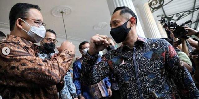 Anies-AHY Berpeluang Diusung Nasdem-PKS-Demokrat, Peluang Menang Di Pelupuk Mata