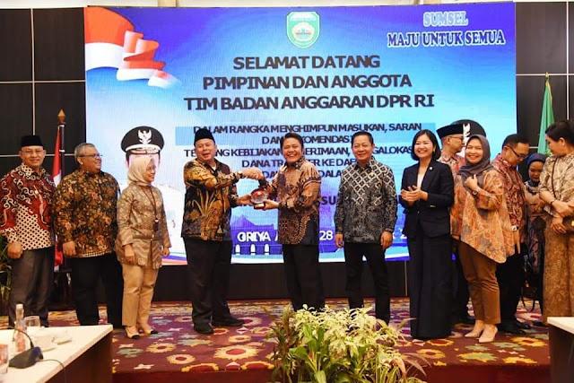HD Ungkap TKDD Kabupaten Kota Masih Banyak Kurang Bayar