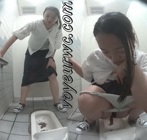 Hidden cam in the female toilet of a mall recording a lot of girls pooping (Shopping mall Toilet Pooping)