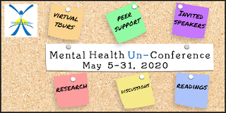 Picture of Mental Health Un-Conference Reminder Board
