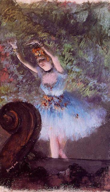 Эдгар Дега - Танцовщица (1877-1878)